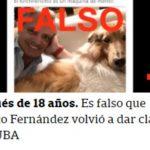ALBERTO FERNANDEZ VICTIMA DE FAKE NEWS Y OPERACIONES DEL DIARIO LA NACION