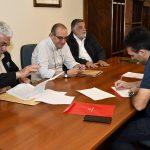 FIRMAN CONVIENIO PARA DESARROLLAR EL PROYECTO URBANO «DUNAS VERDES» EN QUEQUEN