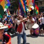MILES DE PERSONAS MARCHAN A PLAZA DE MAYO CONTRA LA MASACRE EN BOLIVIA