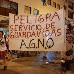 GUARDAVIDAS LOCALES DE MOVILIZARON POR «REAPERTURA DE PARITARIAS»