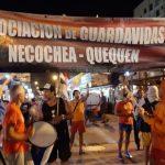 GUARDAVIDAS DE NECOCHEA ANUNCIARON PARO POR TIEMPO INDETERMINADO DESDE EL MIERCOLES